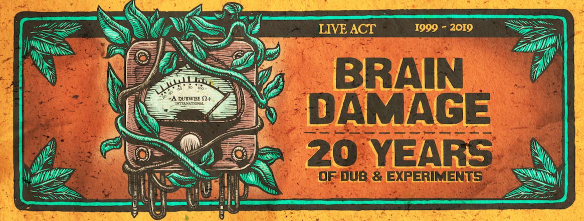 BRAIN DAMAGE - tournée des 20 ans