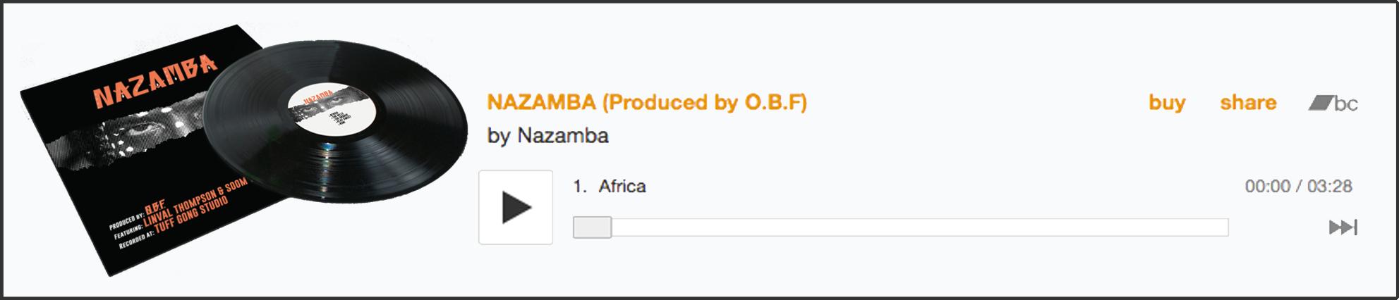 Ecouter l'album, Nazamba produit par OBF